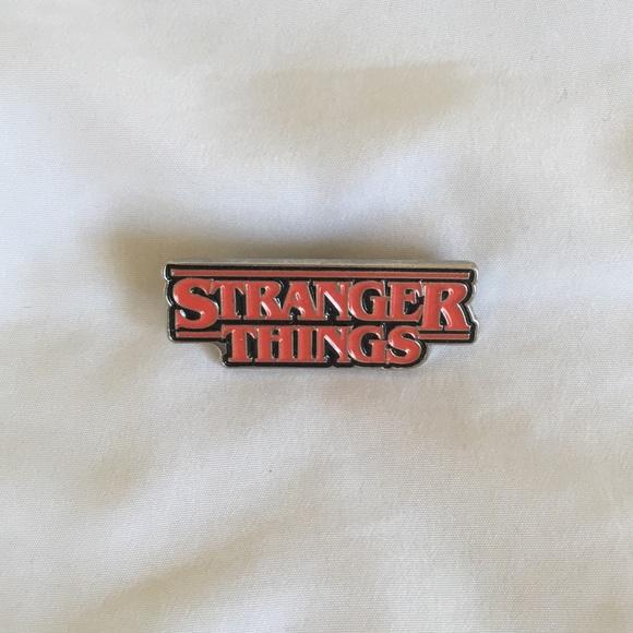 Stranger Things Enamel Pin